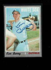 1970 TOPPS  #239 ALLEN BERRY AUTHENTIC ON CARD AUTOGRAPH SIGNATURE AX7088