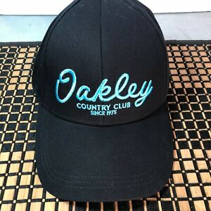 Oakley Tnp Country Club Adjustable Strapback Hat Blackout