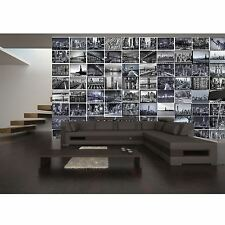 CREATIVE COLLAGE BIG APPLE NEW YORK CITY WALL MURAL - 64 PIECE WALLPAPER NEW