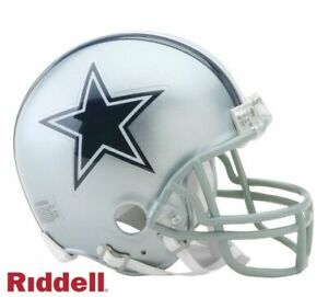 Dallas Cowboys VSR4 Riddell Football Mini Helmet New in box