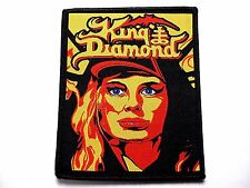 king diamond fatal portrait #2   WOVEN PATCH