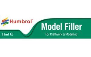 Humbrol Model Filler Modelling Body Putty Plastic Kit Gap Fill Tube 31ml