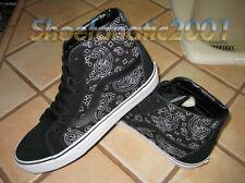 Vans Sample SK8 Hi Reissue Bandana Stitch Black White Supreme Skateboarding