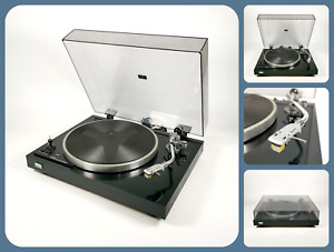 Sansui SR 222 MKII   Record Deck Player / Turntable   Original Cartridge   Black