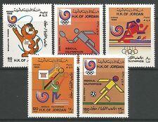 Briefmarken aus dem mittleren Osten mit Olympische Spiele-Motiv