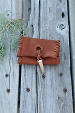 Leather card holder , Card case , Small leather wallet