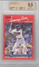 1990 Donruss Sammy Sosa (Rookie Card) (#489) (All 9.5 Sub Grades) BGS9.5 BGS