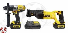 DeWALT DCK292L2 20V Li-Ion MAX Hammerdrill Reciprocating Saw SawZall Combo Kit