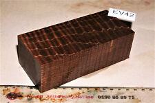 Griffblock Box Mod Riegelahorn braun stabilisiert 139x62x44mm puq EV42