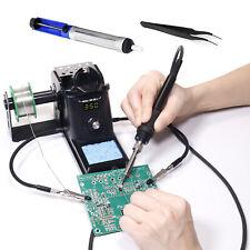 Digital Soldering Station Iron Kit Led Display Rework Station Welding Tool Usa