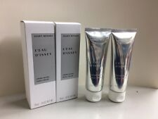 ISSEY MIYAKE L'eau D'issey Hand Cream 75ml / 2.6 oz TRAVEL SIZE x 2 PCS *BOXED*