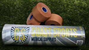 Premium Rigid Sports Strapping Tape - 8 Rolls x 38mm x 13.7m