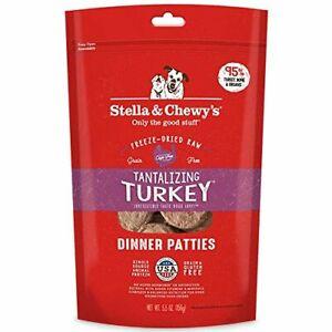 Stella & Chewy's Freeze-Dried Raw Tantalizing Turkey Dinner Patties Dog Food ...