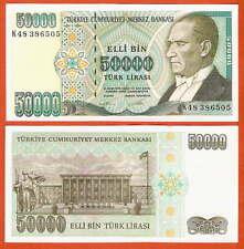 P204   Türkei    50000 Lira  1970/ 1995     UNC