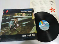 "Tony Carey Some Tough City USA Edition 1984 - LP Vinilo 12"" VG/VG"