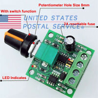 Low Voltage Motor Speed Controller DC 1.8v 3v 6v 12v 2A  PWM Module For Arduino