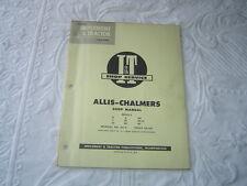 Allis Chalmers B C Ca G Wd Wc Wf Rc G tractor Shop Service Manual I&T