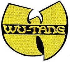"Wu-Tang Clan - Yellow ""W"" Logo Patch Emblem Symbol Badge Classic Rap Hip-Hop"
