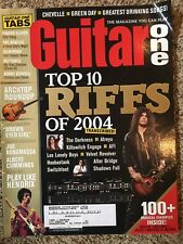 Guitar One Magazine January 2005 Top 10 Riffs Of 2004 Slash Play Like Hendrix