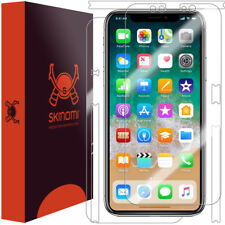 Skinomi Full Body Clear Skin Screen Protector for Apple iPhone X
