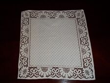 LACE DOILY NAPKIN WHITE TABLE  HOME BEDROOM WDNF118