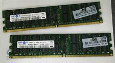 2x HP 499277-061 4GB PC2-6400 DDR2-800 ECC Server Memory for Proliant Servers