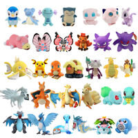 Pokemon Red an Blue Plush Doll Soft Figure Stuffed Toys 5-28inch