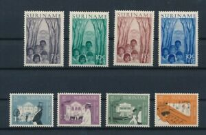 D193876(1) Suriname 1954-1958 Nice selection of MH stamps