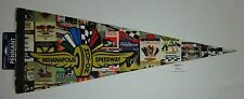 Indianapolis Motor Speedway Collector Pennant IMS Soovenir Old Indy 500 Program