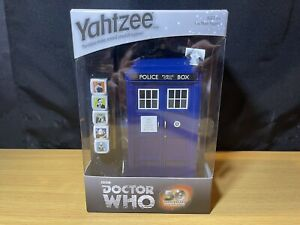 BBC Dr Who Yahtzee Game 50th Anniversary Edition Classic Dice Game New