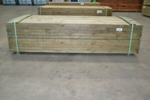 Treated Pine Sleepers 200x50mm x 3.0mt - Retaining Wall Garden Boxing Sand Pits
