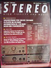STEREO 4/91,jbl 4425, Linn Sondek LP 12, UREI 809a, accuphase DP 70v, Stax ELS f83x