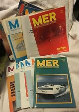 MER Marine Engineers Review -Lot of Asst. literature - Ships Boats