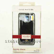 Case Mate iPhone 5C Barely There ID Hard Shell Case Snap Cover Sliver NEW