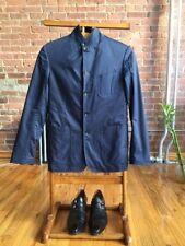 Rag & Bone 100% Cotton Tech Sport Coat Blazer, Blue, Size 36 XS