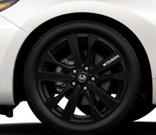 6x Alloy Wheels Stickers Fits Mitsubishi Galant Graphics Vinyl Decals RD51