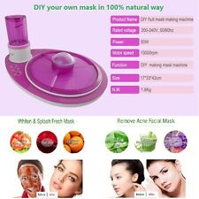 Facial Mask Maker Healthy Face Natural Fruit and Vegetable DIY Making Machine