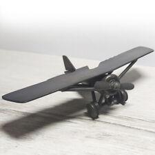 Trench Art WW1 Morane-Saulnier AI Plane Model From Military Supplies
