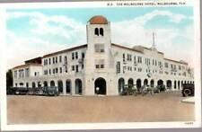[-383] Melbourne Hotel - Melbourne Florida - ca 1920s