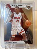 KENDRICK NUNN 2019-20 Panini Mosaic Rookie RC NBA DEBUT SILVER #268 Miami Heat