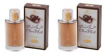 2 CHOCO MUSK 50ML ORIENTAL WHITE MUSK VANILLA EAU DE PERFUME SPRAY BY AL REHAB