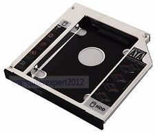 12.7mm SATA 2nd HDD HD SSD Hard Drive Caddy Adapter Bay for HP Docking Station