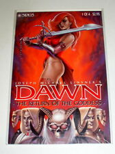 Dawn Return of the Goddess #1  J.M. Linsner  Free Shipping