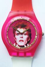 David Bowie record - Retro 80s designer watch