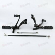 HOT Iron Foot Pegs Forward Control Kit Linkage Levers For Harley Sportster 1200
