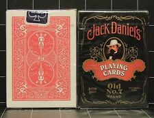 Jack Daniel's Playing Cards pack #6633 & Bicycle rider back card deck #808 lot 2