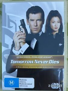 James Bond 007 In Tomorrow Never Dies DVD. 2 Disc Ultimate Edition. Free Postage