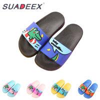 Kids Boys Girls Summer Casual Slide Slippers Soft Sandals Slip on Beach Shoes
