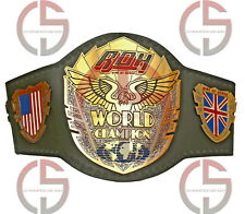 ROH WORLD CHAMPION 4MM ZINC PLATES WRESTLING CHAMPIONSHIP BELT