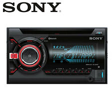 Sony WX-900BT BLUETOOTH CD MP3 USB AUX Double Din Car Stereo Radio iPhone Player